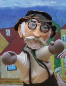 Marionnette Père Tatane