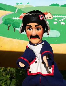 Marionnette gendarme