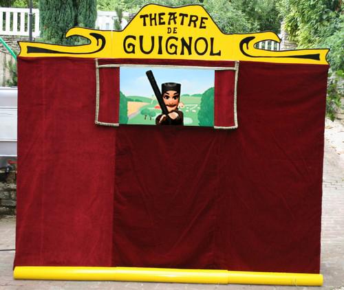 Théâtre de marionnettes ambulant