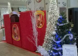 Spectacle Noël Guignol en centre commercial