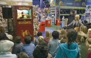 animation marionnettes magasin