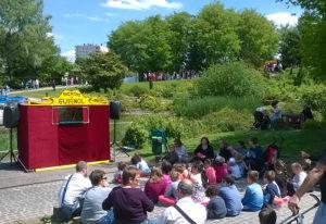 spectacle marionnettes parc