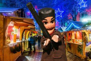Guignol au marché de Noël