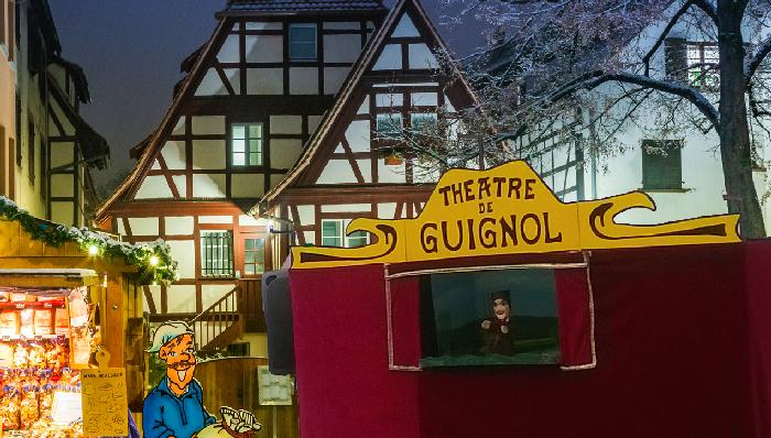théâtre Guignol - marché de Noël