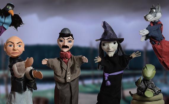 les personnages méchants dans les spectacles de Guignol